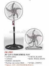 """20"""" Crown Heavy Duty DC Industrial Stand Fan EK-2001"""