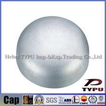ANSI B 16.9 steel cap for pressure storage