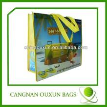 Hot summer non woven beach carry bag