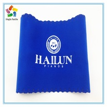 Newly and fashion musical instrument cleaning and protecting cloth,double side velvet cleaning cloth