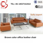 modern leather sofa with fabric material for loveseat sofa