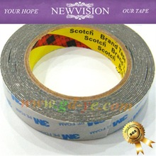 Remove colorful heat resistant 3m PE double sided adhesive foam tapes for windows