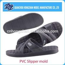 High quality pvc slipper mold for men