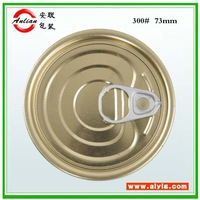 401# 99mm Golden outside and golden inside organosol High Quatity Tin canned food lid