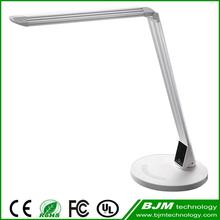 7w Popular Modern Design Plastic Aluminium Touch Light Switch Table Lamp Shade