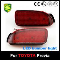 CARSEN Car Auto Parts Backup Tail Toyota ESTIMA Rear Bumper light LED Reflector stop Brake light Toyota LED Fog lamp