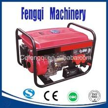 Gasoline 750w generator electric starter digital inverter petrol silent 220v DC 12v generator