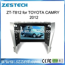 ZESTECH HD touch screen Car dvd radio player for toyota camry 2012 with GPS,bluetooth,RDS,DUAL ZONE,3G full function