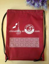 Promotional 210D Polyester Drawstring Bag