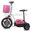 Yetişkin elektrikli 3- tekerlekli scooter
