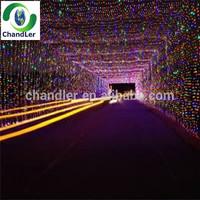 2014 New 100M 600LEDs Waterproof LED Christmas Tree Light 8 Displays LED String light