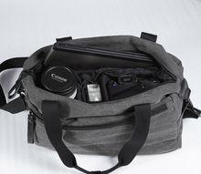 waterproof canvas camera shoulder bag For dslr SLR