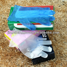 high standard industrial pvc gloves with good original material