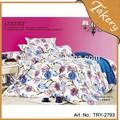 cachemira ropa de cama conjunto impreso hoja de cama pcs 4 de doble tamaño