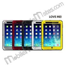 2014 Wholesale LOVE MEI Case for for iPad Mini 3 for iPad Mini 2 Retina, Waterproof Aluminium Gorilla Glass Case for iPad Mini