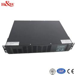 Rack mounted LCD /LED used ups batteries 1kva/2kva/3kva UPS