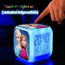 Frozen custom alarm clock
