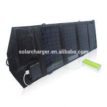 AMAZON hot selling 14W foldable solar charger 5.5v solar panel