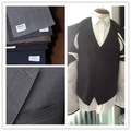 2014 new style 100% wool black men suit for wedding