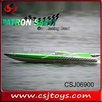 Fiberglass Patron Saint RC Gasoline Boat petrol Racing Boat gas power rc boat with Japan Zenoah 29CC Gas Engine 75km/h