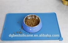 dirt-resistant waterproof cat dog silicon pet mat