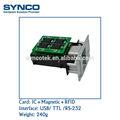 ccid 5v magnética lector de tarjetas atm