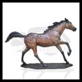 De alta qualidade da cabeça de cavalo bornze esculturas