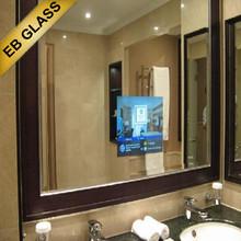 32inch wall mounted waterproof mirror tv , Tv Behind Mirror,eb glass