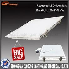 ZD-F062 Modern design 100lm/w high luminous square backlight led 15w downlight