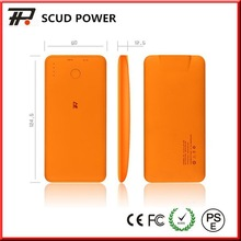 2014 new list rubber finish travel charger 4000mah universal portable power bank hot in HK fair