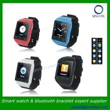Quad bands SIM card smart watch phone