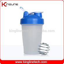 Any color 16oz/400ml design custom protein shake shaker bottle (KL-7011D)