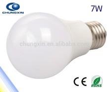 Shenzhen led light hot sale e27 led bulb 7w Epistat SMD2835 led lampada e27 base