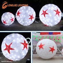 D:30cm, 40cm, 50cm led ball light Christmas decorations