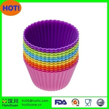 Perfect for Birthday Parties, & Special Occasions 100% Food Grade Non-stick Cupcake Molds Silicone Baking Cup