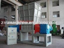plastic PET or rubber single shaft shredder made in Zhongmao