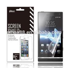 Free Sample !white privacy premium screen protector for Sony Xperia E3 mobile phone