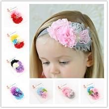 New design!! Promotions!!flower hair accessories headwear girls baby headband