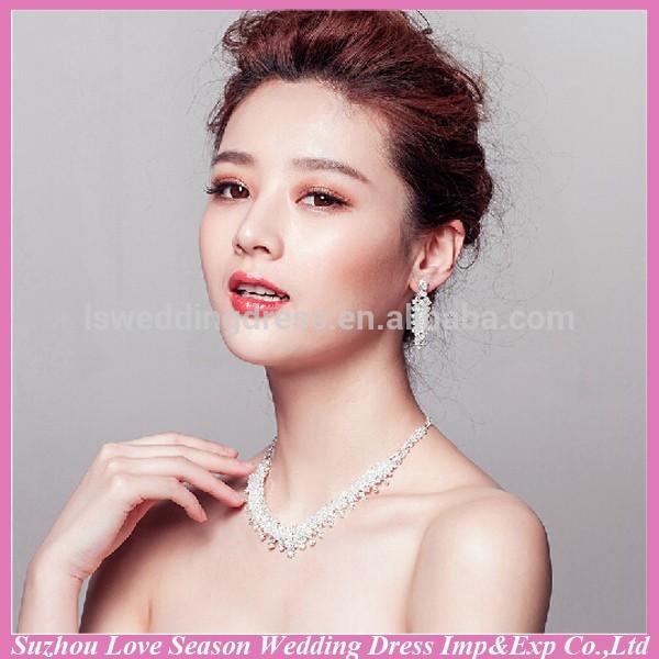 wc0039 nova moda qualidade superiorinvory venda quente bonito brilhante baratos tradicional de cristal colar de jóias