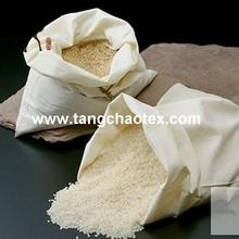 Natural Bamboo fiber Fabric for rice bags/hometextile