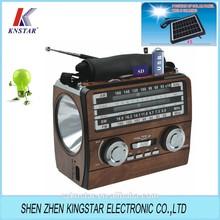 solar powered radio speaker