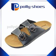 New arrival Arabic wholesale men summer leather sandal