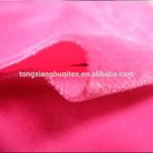 Super soft short plush (flat yarn) of home fabric