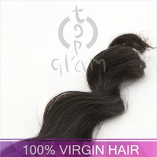 human hair lace eyebrows, TOPGLAM-1766 virgin wavy hair