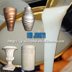 RTV liquid silicone for gypsum decoration mold making