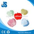شهادة sgs وذات نوع الغيار هلام حزمة الجليد، صغيرة من البلاستيك الجليد الأزرق هلام مربع، تفاحة على شكل حزمة الجليد القابل لإعادة الاستخدام التخييم