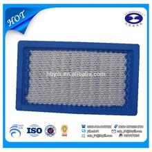 Alta qualidade cortador de grama filtros de ar de ar motor parte