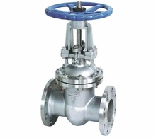 two-way flow WCB flange connection rising stem gate valve