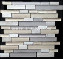 China foshan interior wall and bathroom crystal glass mosaic table SJ8103