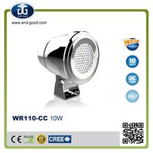 car accessories IP68 DC9-50V 10W led-headlight-for-snowmobile,h4 fog lamp,nav led lights